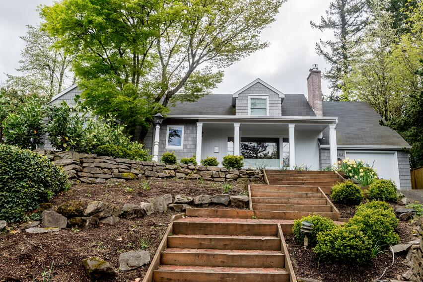 exterior home remodel in portland