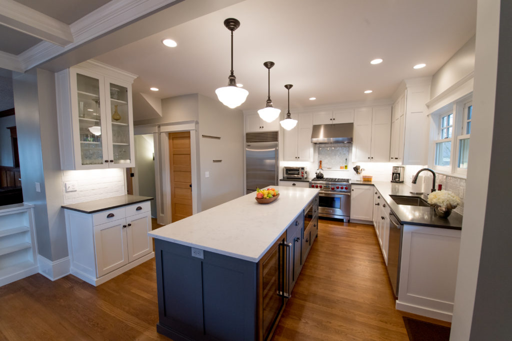 Recessed Lighting in Kitchen - Portland Design Build.jpg