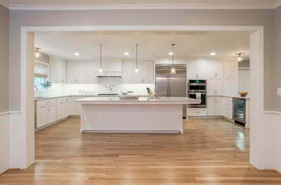 Kitchen in a Fine Home Renovation