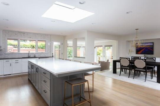 modern kitchen remodel in portland
