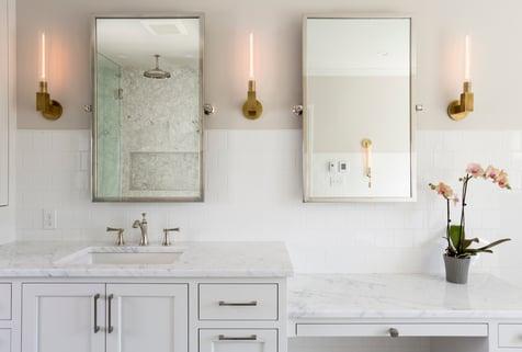 stunning bathroom remodel in nw portland